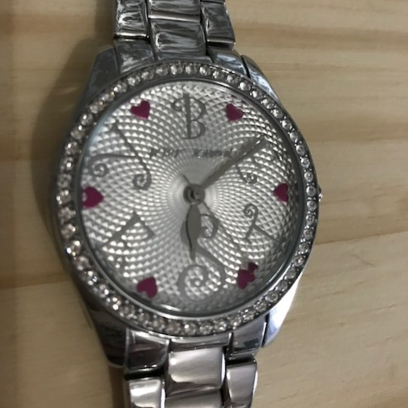 Betsey Johnson Accessories - Betsey Johnson Silver Watch